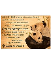 Panda Be Worth It 17x11 Poster front