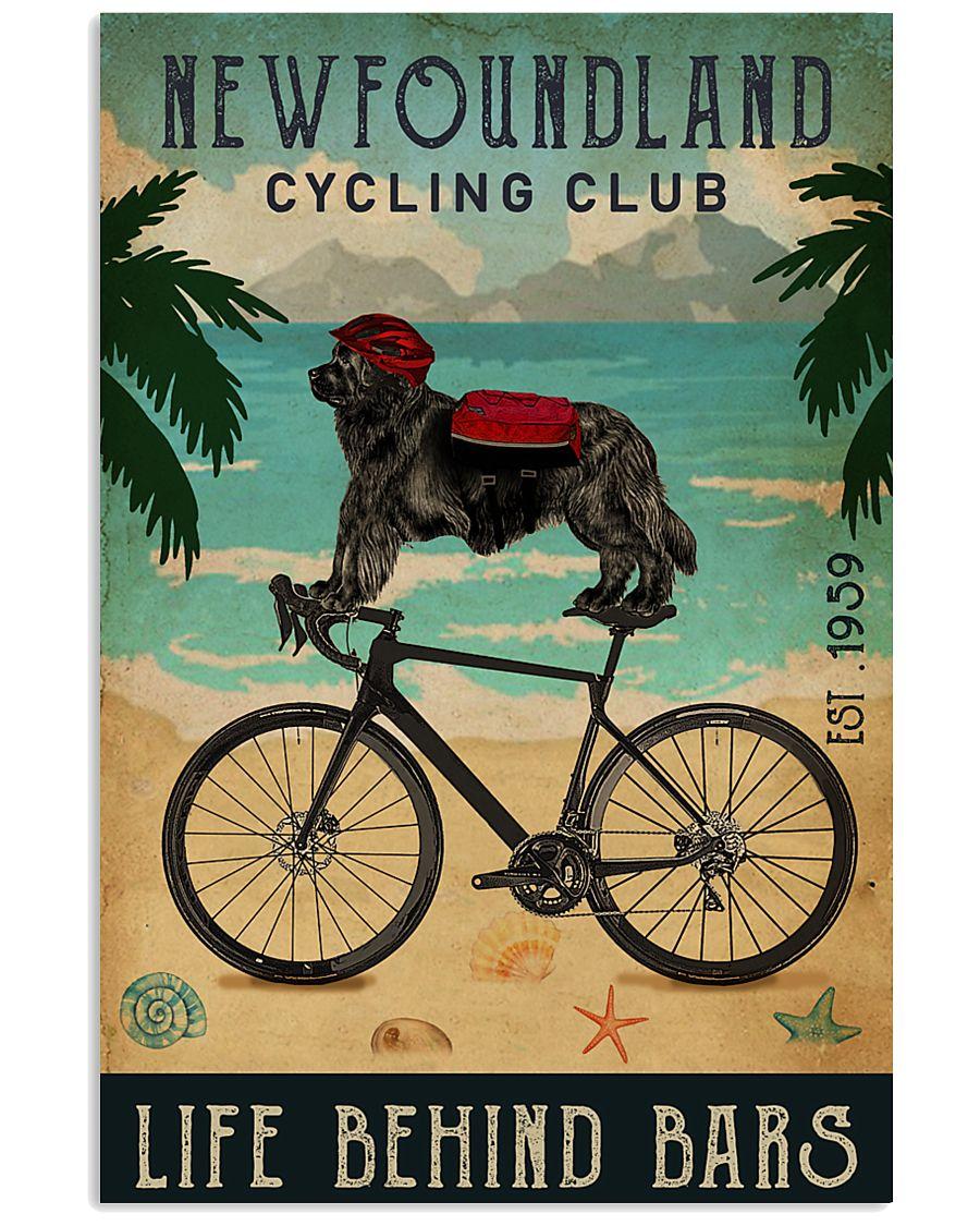 Cycling Club Newfoundland 11x17 Poster