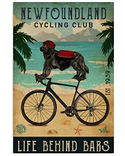Cycling Club Newfoundland 11x17 Poster front
