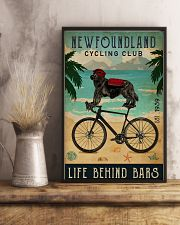Cycling Club Newfoundland 11x17 Poster lifestyle-poster-3