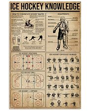 Ice Hockey Knowledge 16x24 Poster front