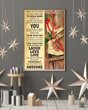 Today Is A Good Day Ice Skating 16x24 Poster lifestyle-holiday-poster-1