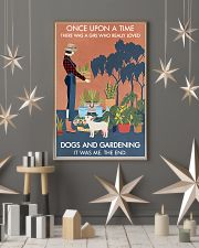 Vintage Once Upon A Time Dog Gardening 16x24 Poster lifestyle-holiday-poster-1