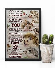 Hedgehog Today Is A Good Day 11x17 Poster lifestyle-poster-8