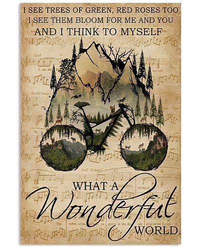 Music Sheet Wonderful World Cycling