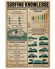 Surfing Knowledge 16x24 Poster front