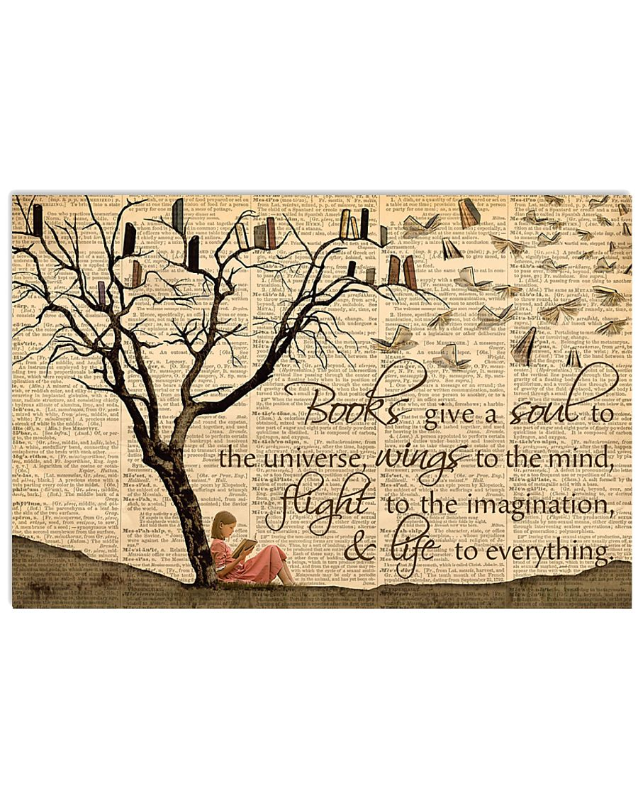 Wings To The Mind Reading Girl 17x11 Poster