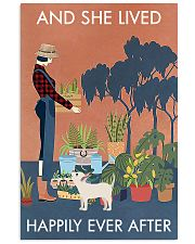 Vintage And She Lived Happily Dog Gardening 11x17 Poster front