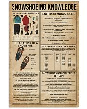 Snowshoeing Knowledge 11x17 Poster front