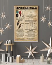 Snowshoeing Knowledge 11x17 Poster lifestyle-holiday-poster-1