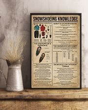 Snowshoeing Knowledge 11x17 Poster lifestyle-poster-3