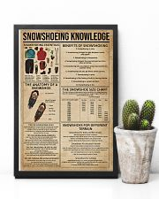 Snowshoeing Knowledge 11x17 Poster lifestyle-poster-8