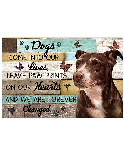 Wood Piece Come Into Our Lives Pit Bull