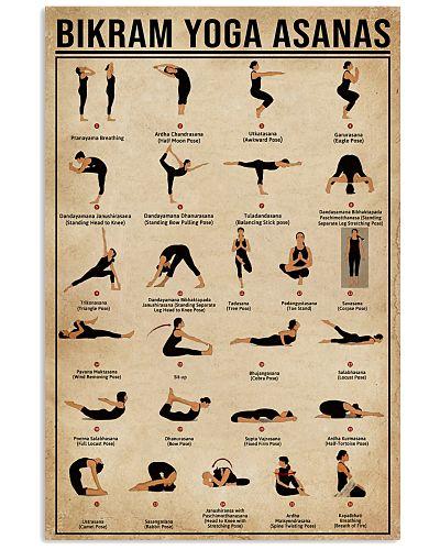 Bikram Yoga Asanas