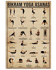 Bikram Yoga Asanas 16x24 Poster front