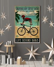 Cycling Club Australian Cattle Dog 11x17 Poster lifestyle-holiday-poster-1