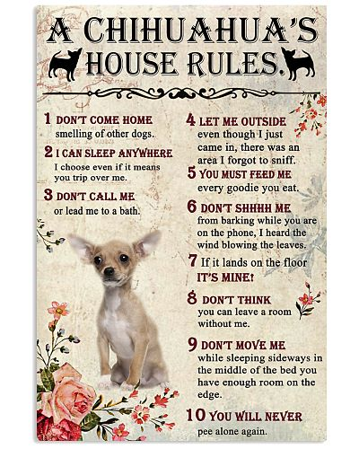 A Chihuahua's House Rules