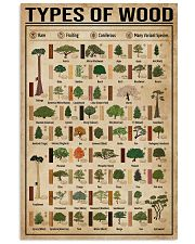 Types Of Wood Carpentry 11x17 Poster front