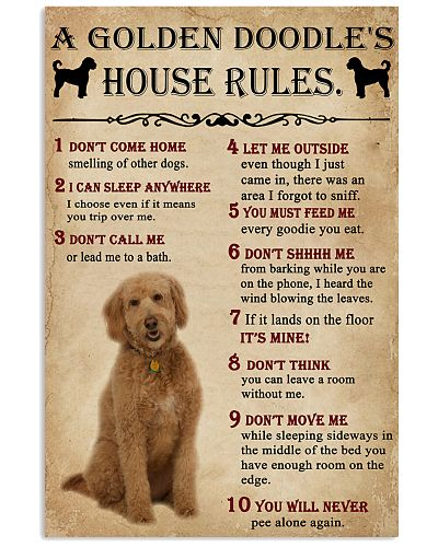 A Golden Doodle House Rules