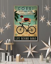 Cycling Club Corgi 11x17 Poster lifestyle-holiday-poster-1