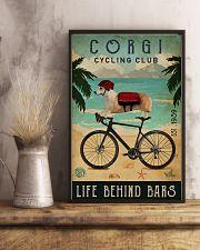 Cycling Club Corgi 11x17 Poster lifestyle-poster-3