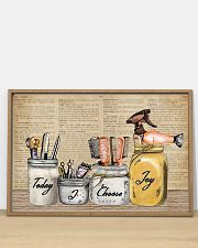 Pallet Dictionary Today I Choose Joy Hairstylist 36x24 Poster poster-landscape-36x24-lifestyle-03
