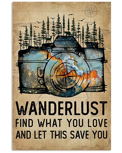 Watercolor Camera Wanderlust Find What You Love