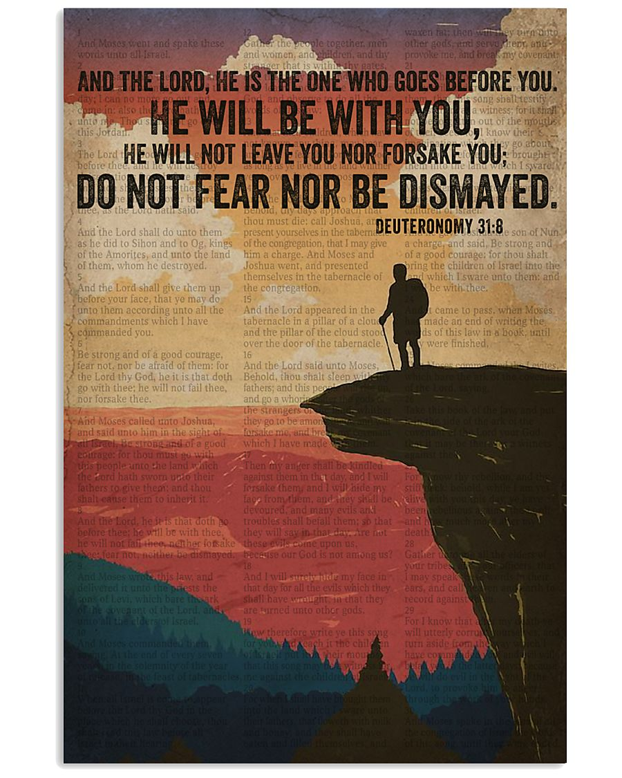 He Will Be With You Bible And Hiking 16x24 Poster
