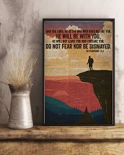 He Will Be With You Bible And Hiking 16x24 Poster lifestyle-poster-3
