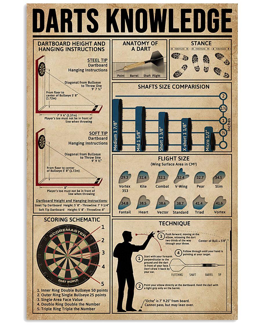 Darts Knowledge  11x17 Poster