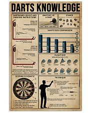 Darts Knowledge  11x17 Poster front