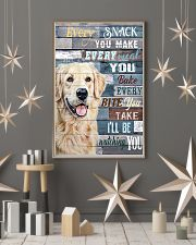Golden Retriever Every Snack You Make 11x17 Poster lifestyle-holiday-poster-1