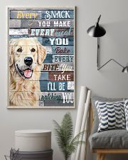 Golden Retriever Every Snack You Make 11x17 Poster lifestyle-poster-1
