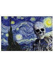 Starry Night Skeleton 17x11 Poster front