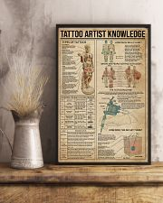 Knowledge Tattoo Artist 11x17 Poster lifestyle-poster-3