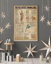Knowledge Tattoo Artist 16x24 Poster lifestyle-holiday-poster-1