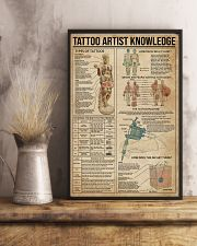 Knowledge Tattoo Artist 16x24 Poster lifestyle-poster-3