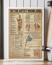 Knowledge Tattoo Artist 16x24 Poster lifestyle-poster-4