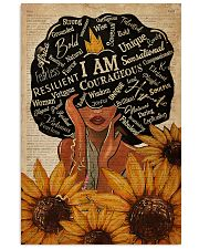 Sunflower Black Girl Dictionary 11x17 Poster front