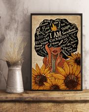 Sunflower Black Girl Dictionary 11x17 Poster lifestyle-poster-3