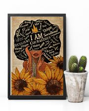 Sunflower Black Girl Dictionary 11x17 Poster lifestyle-poster-8