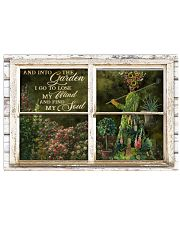 Window And Into The Garden Girl 24x16 Poster front