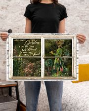 Window And Into The Garden Girl 24x16 Poster poster-landscape-24x16-lifestyle-20