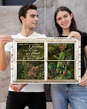 Window And Into The Garden Girl 24x16 Poster poster-landscape-24x16-lifestyle-21