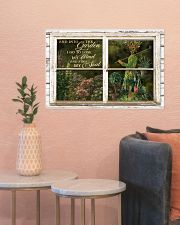 Window And Into The Garden Girl 24x16 Poster poster-landscape-24x16-lifestyle-22