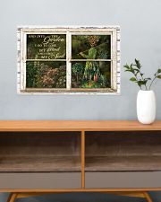 Window And Into The Garden Girl 24x16 Poster poster-landscape-24x16-lifestyle-25
