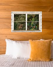 Window And Into The Garden Girl 24x16 Poster poster-landscape-24x16-lifestyle-27