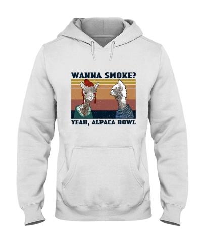 Retro Navy Alpaca Bowl