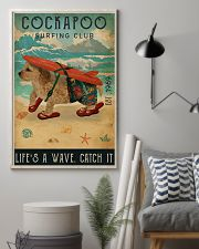 Surfing Club Cockapoo 16x24 Poster lifestyle-poster-1