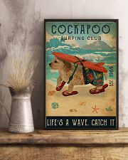 Surfing Club Cockapoo 16x24 Poster lifestyle-poster-3